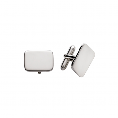 Hamilton Sterling Silver Polished Cufflinks