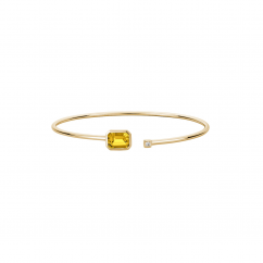 14k Yellow Gold and Citrine Bracelet