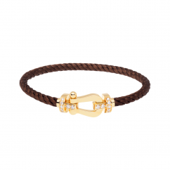 Fred Chocolate Bracelet With Diamond Buckle, Exclusively at Hamilton Jewelers