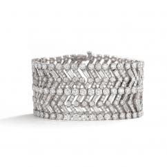Private Reserve Platinum and Diamond Bracelet