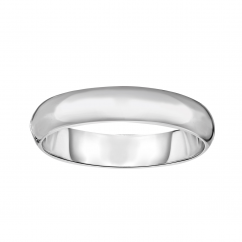 Sterling Silver Dome Bangle Bracelet