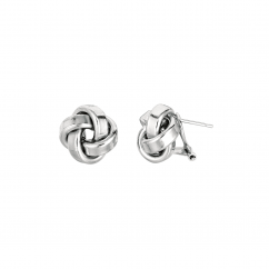 Hamilton Sterling Silver Knot Earrings
