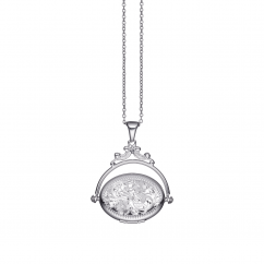 Hamilton Sterling Silver Swivel 22mm Locket
