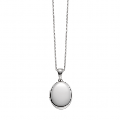 Hamilton Sterling Silver 17mm Oval Locket