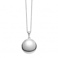Hamilton Sterling Silver 19mm Round Locket