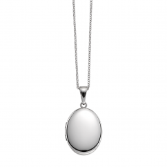 Hamilton Sterling Silver 21mm Oval Locket