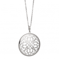Sterling Silver Openwork Pendant