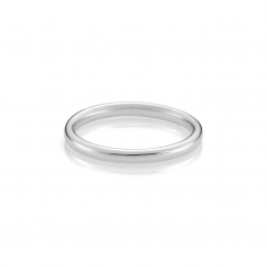 The Hamilton Select 14k White Gold Wedding Band