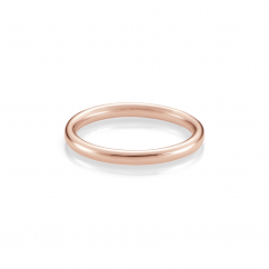 The Hamilton Select 14k Rose Gold Wedding Band