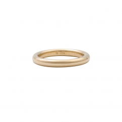 18k Yellow Gold 2.5mm Comfort Fit Wedding Band