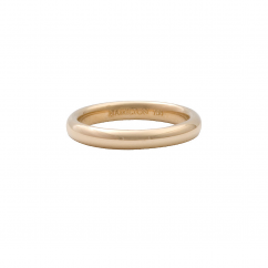 18k Yellow Gold 3mm Comfort Fit Wedding Band