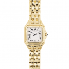 Pre-Owned Cartier Panthere 18k Yellow Gold Medium