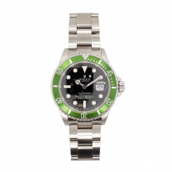 "Pre-Owned Rolex ""Kermit"" GMT II Master #16710"